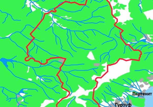 001-Krymskyi Zapovednik Map