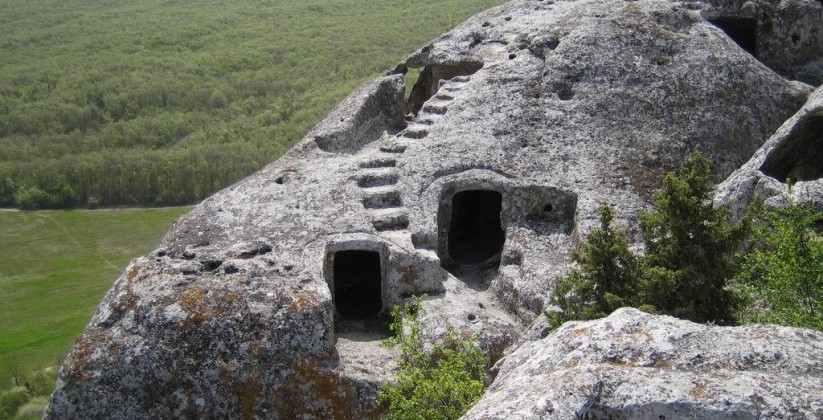 pechernie goroda Krima Eski-Kermen